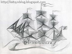 Корабль схема