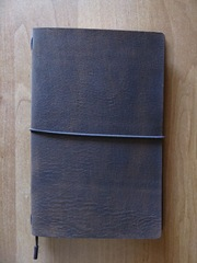 Кожаный блокнот