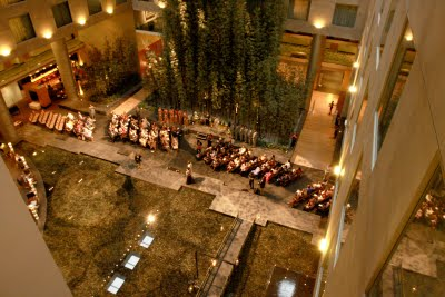 Westin Detroit wedding ceremony