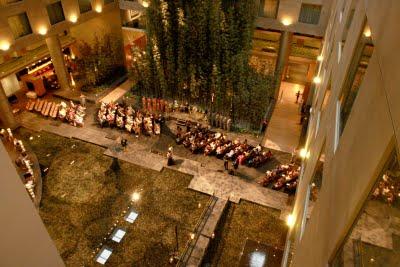 Westin Detroit wedding ceremony