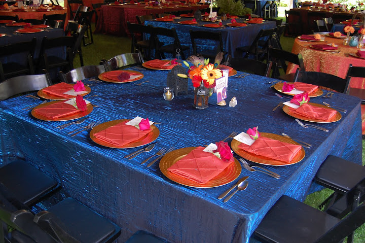 indian wedding table