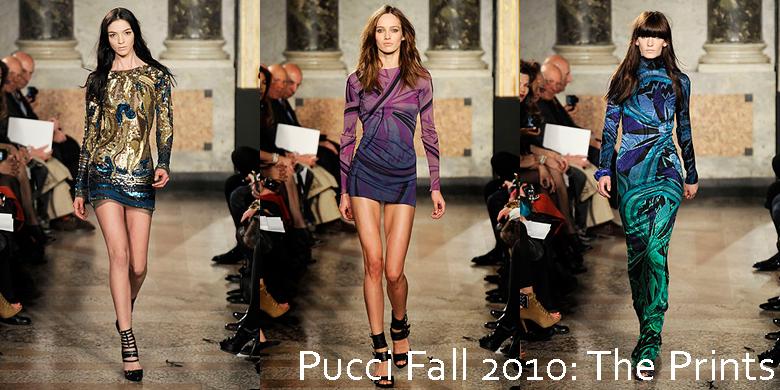 pucci prints fall 2010
