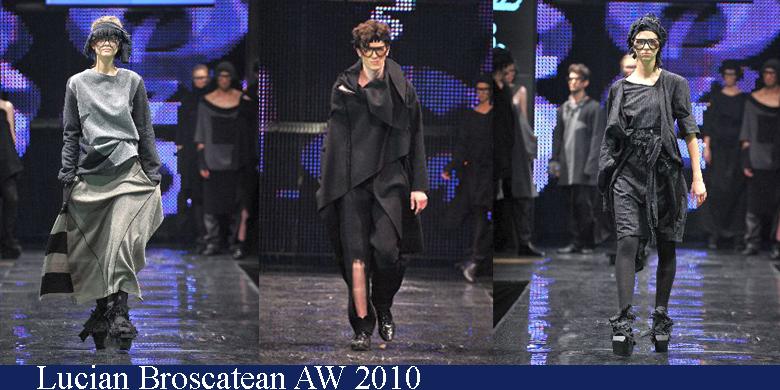 Lucian Broscatean Toamna-Iarna 2010 Romanian Fashion Week Iasi