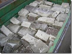 大谷石の回収