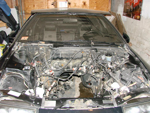300zx install wiring harness out removing engine 300zx my engine build th very picture intensive nissan forum on 300zx install wiring harness out removing