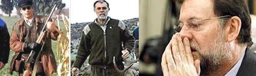 Garzón, Bermejo y Rajoy