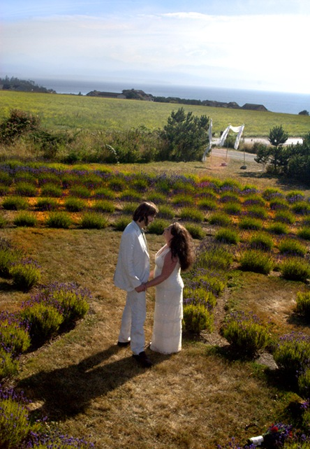 Labyrinth wedding walk