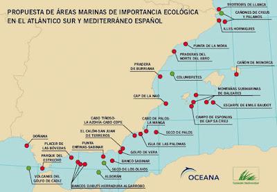 áreas marinas