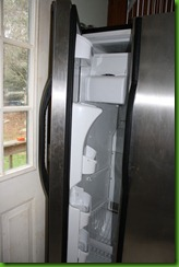 refrigerator, fridge, stainless, appliance
