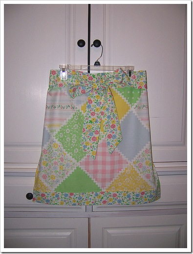 Vintage Pillowcase Apron