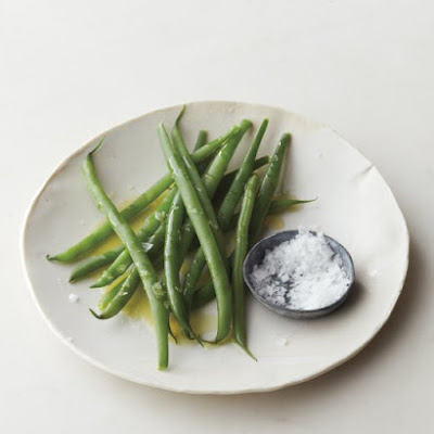 Steamed Green Beans with Lemon