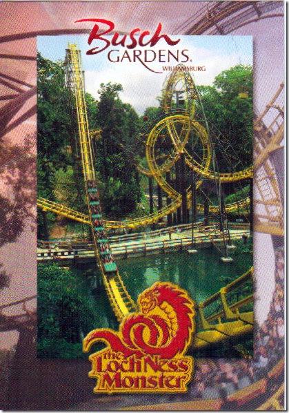 Loch Ness Monster at Busch Gardens