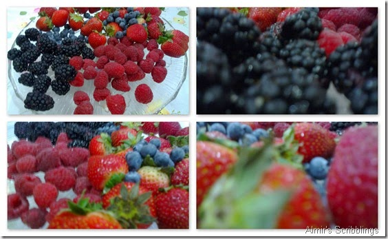 Berries collage