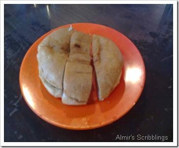 Roti bun bakar