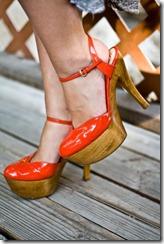 sapato de madeira Gucci