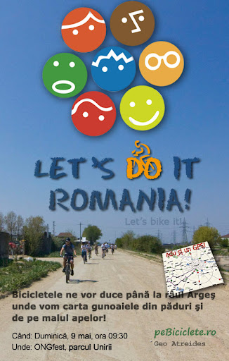 bicicleta let's bike it romania geo atreides