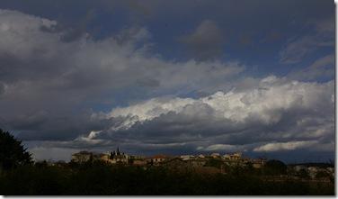 Velleron ciel orage
