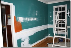 Painting the dining room 010