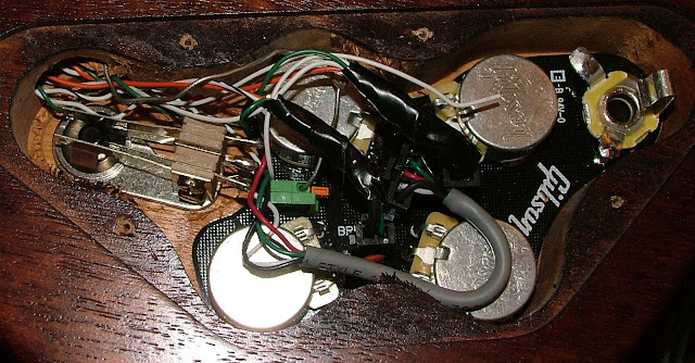 50s wiring for epiphone and gibson what a contrast makes modifying your instrument an interesting challenge it s nice in that the board is labeled for ground and components like a regular