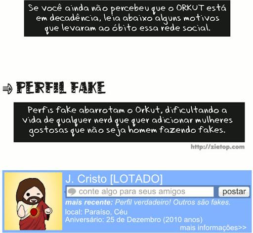 Perfil Fake