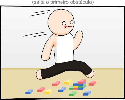 Primeiro obstáculo