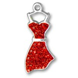 Red Dress Charm