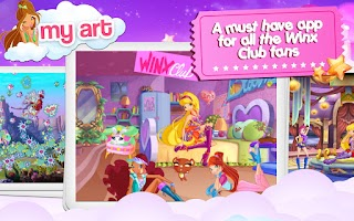 Screenshot of Winx –Club Fairy Artist!
