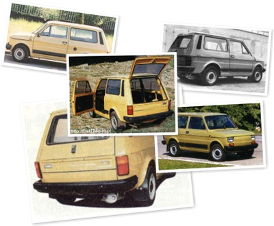 FIAT 126 KOMBI STATION WAGON