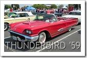 FORD THUNDERBIRD 1959 CONVERTIBLE