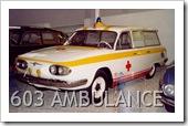 TATRA 603 AMBULANCE