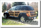 PT CRUISER WOODIE PACKAGE