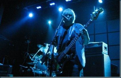 """Dale Crover as """"Matt Lukin"""" on bass"""