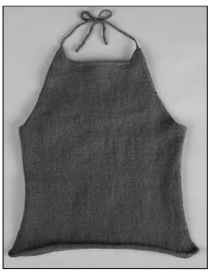 A halter top is great on its own or layered with a shawl or jacket.