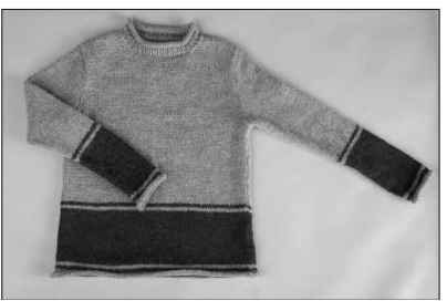 A casual rollneck sweater for men.