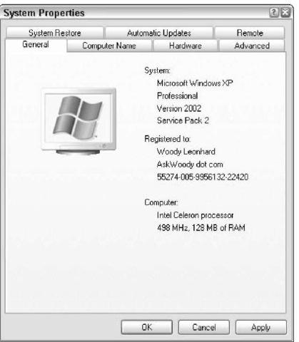 copy of windows xp pro
