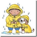 Snealy-Peeks-rainy-day-Mary-Hall