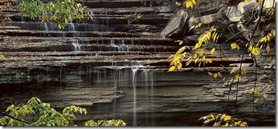 clifty falls waterfall