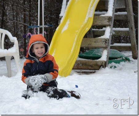 Kids at Schoen's and in the Snow 037