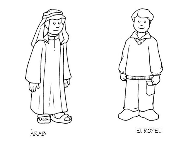 Outfit of Arabia and Europe