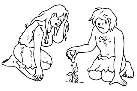 Nomad to sedentary, free coloring pages