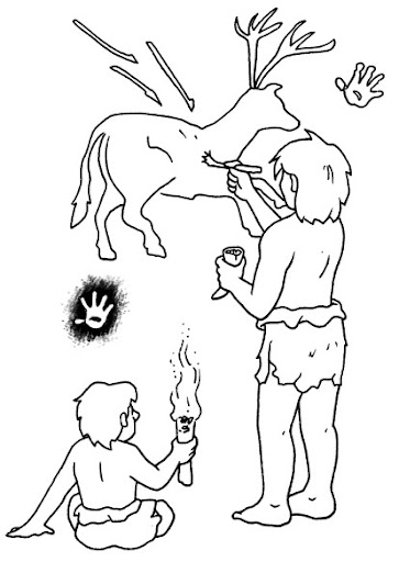 rock painting coloring pages