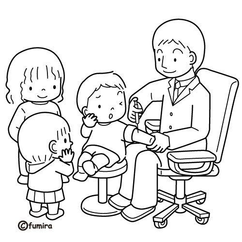 Dibujos de doctor para colorear - Imagui