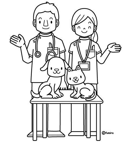 Pinto Dibujos D a del veterinario