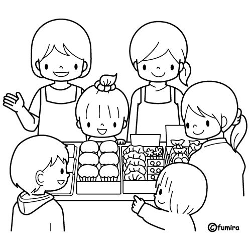 Neighborhood Market Coloring Pages Coloring Pages Market Coloring Pages