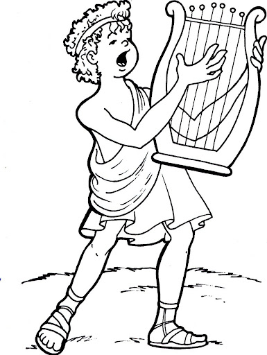 free greek coloring pages - photo#13