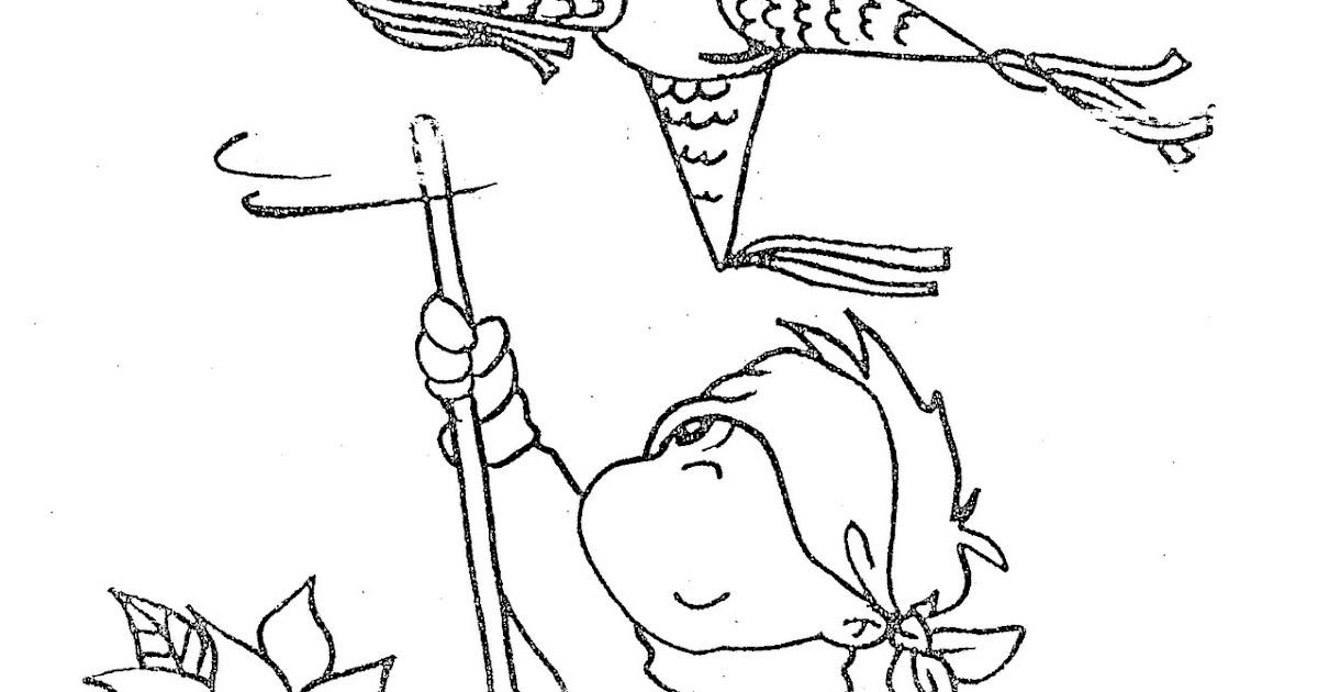 Pinto Dibujos: Niño haciendo trampa al pegarle a la piñata ...