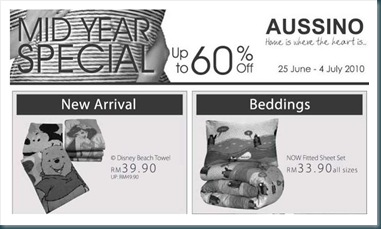 Aussino Mid Year Sale