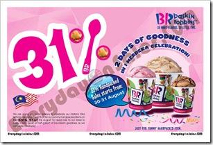 Baskin-Robbins-Merdeka-Sale