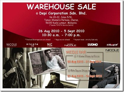 Depi_Corporation_Warehouse_Sale