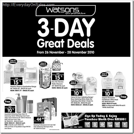Watson_3_Day_Great_Sale